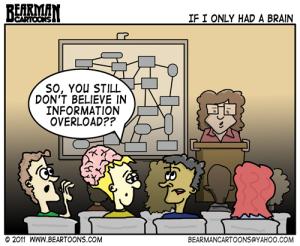 Believing in info overload
